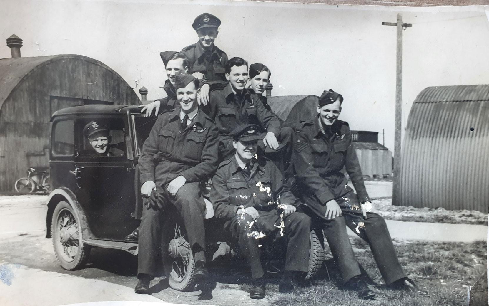 Captain Reg Paterson DFC, CD, RCAF (Ret)